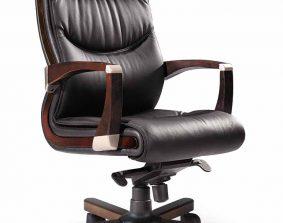 Silla de oficina herpesa modelo Cantabria M, acabado negro